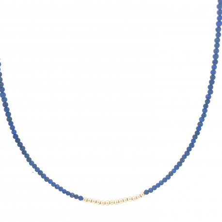 Goldfilled collier